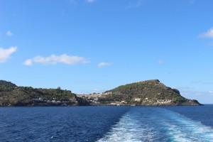 Ustica - Vista dal mare