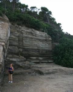 Ustica - Depositi di eruzioni